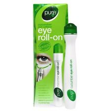 PURE EYE ROLL ON CUCUMBER CAFFEINE DARK CIRCLES UNDEREYE BAGS TIRED SKIN FATIGUE