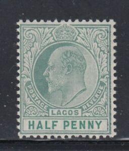 LAGOS King Edward VII MNH stamp