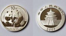 10 Yuan Münze China Silber Feinsilber 1 Unze 1 Oz 2009 Panda