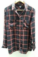 M&S Limited Edition Red/Blue Check Shirt Size 12 <C2439z