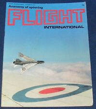 FLIGHT INTERNATIONAL MARCH 23 1972 - ANATOMY OF SPINNING