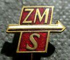 COLD WAR RELIC VINTAGE PIN OF POLAND - ZMS (ZWIAZEK MLODZIEZY SOCJALISTYCZNEJ)