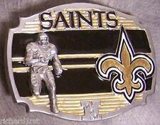 NFL Pewter Belt Buckle New Orleans Saints NEW Montage
