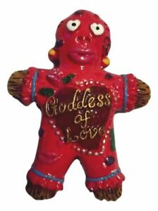 Goddess of Love Voodoo Doll Red Magnet Party Favor