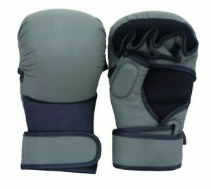 MMA Boxing Gloves Sparring Grappling Fight Punch Mitts Training Wear