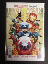 Civil War #1 - SDCC Variant - Marvel Comics - NM