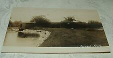 1906 Real Photo Postcard The Green at Accord Pond Hingham Norwell Rockland MAss