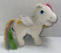 Vintage MY LITTLE PONY - 1984 Hasbro Softies STARSHINE Rainbow Pegasus Plush