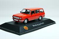 Scale model car 1:43 WARTBURG 353 Kombi 1972 Red