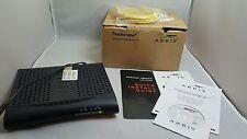 Arris Touchstone Data Gateway Cable Modem, Model #CM550A Black Install Disc Man