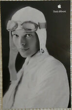 1998 Original APPLE THINK DIFFERENT poster - Amelia Earhart -11x17- NEW!