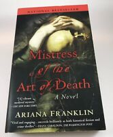 Mistress of the Art of Death by Ariana Franklin Paperback Book