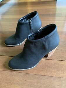 Cole Haan Women's Prynne Bootie (70mm) Ankle Boot - Black Leather Sz 9.5 New