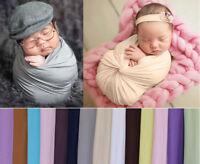 Neugeborene Baby Stretch Milch-seide Wrap Swaddle Fotoshooting Fotografie Prop