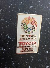Toyota Tokyo 2020 olympic pin