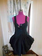 Beautiful All Saints Beaujolais  Dress Black Size 10 VGC