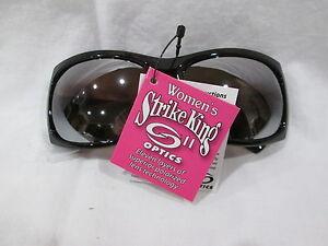 New STRIKE KING Women's Optics Polarized 'Juls' Tortoise Frame/Amber Lens Sungla