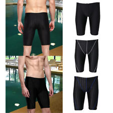 Men's Boys Swimming Trunks  Shorts Jammers Swimmers Swim Pants Black