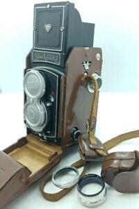 Rolleicord V Camera w/ Schneider Xenar  F3.5 75mm Lens w/original case