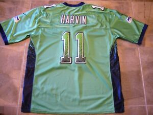 NIKE On Field Seattle Seahawks PERCY HARVIN NFL Players Adult 52 STITCHED Jersey