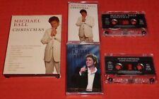 CHRISTMAS/LIVE AT THE ROYAL ALBERT HALL - UK CASSETTE TAPE X 2 - MICHAEL BALL