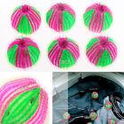 Useful 6PCS Hair Grabbing Laundry Balls Washing Clothes Softener Laundry Ball US