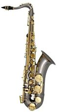 Trevor James Horn Classic II Tenor Sax Outfit - Black. Gold Lacquer Keys