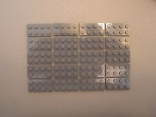 LEGO NEW Dark Bluish Gray Plate 2x4 Lot x20 Star Wars Super Heroes Ninjago 3020