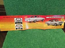 "Danbury Mint ""The 1968 Plymouth Road Runner 383.""  Brochure!"