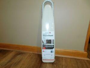 "Household Essentials Mini Sleeve Ironing Board, White, 4.5"" x 20"""