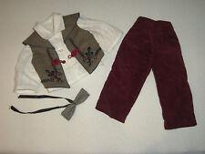 Boneka Outfit Puppenkleidung Junge 4-teilig für 42-45 cm Puppe