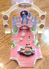 Magic Kingdom Playset Miniature Castle Play Dancing Music Disney Mickey LOT
