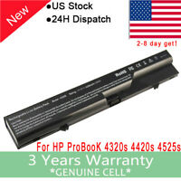PSU / Battery for HP ProBook 4525s 4520s 4425s 4421s 4420s 4320s 5200mah Laptop