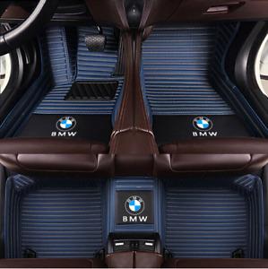 For BMW 1 2 3 4 5 6 7 8 M GT Series X1 X2 X3 X4 X5 X6 Z4 Waterproof Floor Mats