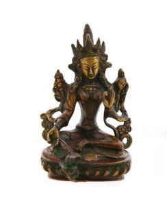 Statue Von Grün Tara Grüner aus Bronze 0KG700 4708