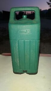Vintage Coleman GREEN Plastic Lantern Carrying Case Great Shape 1989. For 200A