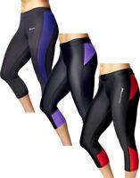 Womens Leggings Fitness Running Gym Exercise Yoga Pants Capri Active Sports