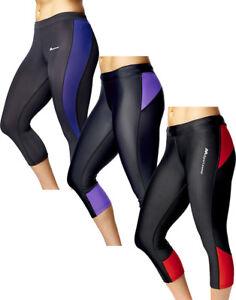 Leggings Active Wear Fitness Running Gym Exercise Yoga Pants Capri For Women