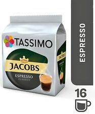 1 x Pack Tassimo Jacobs Espresso Classico T Discs Pods - 16 Expresso Drinks