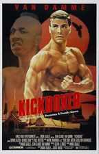 Kickboxer Poster 01 Metal Sign A4 12x8 Aluminium