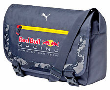 AUTHENTIC PUMA RED BULL RACING TAG HEUER F1 TEAM 2016 MESSENGER BAG 074061-01