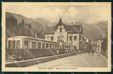 Vicenza Recoaro Terme Stazione Treno cartolina QT2608