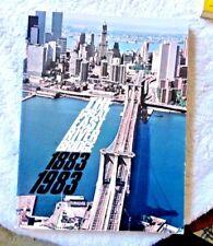 BROOKLYN BRIDGE DESIGN CONSTRUCTION HISTORY BRIDGE ENGINEERING 1983