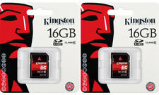 32GB Kingston (2 X 16GB) 16 GB SD Card - (SD10/16GB) ultimateX 120X SDHC