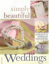 BK128f SIMPLY BEAUTIFUL WEDDINGS 50 Projects To Personalize Your Wedding Book