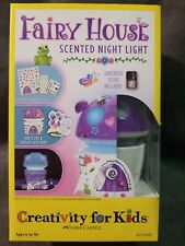 Creativity For Kids Fairy House Scented Night Light Kit