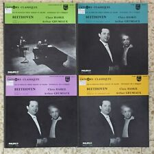 Grumiaux Haskil Beethoven 10 Sonatas for Violin & Piano 4LP Philips France NM