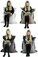Large Kids Cord Jumbo Adult Bean Bag Gamer Beanbag Gaming Big Arm Chair Cushion