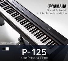 Yamaha P-125 Digital Piano 88-Key Graded Hammer 26lbs 133x16x30cm 110/220V Black