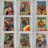 (Lot Of 9) Fantastic Four Number 150, 310, 314, 316, 317, 321, 323 Marvel Comics